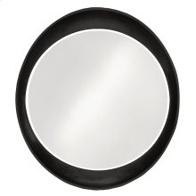 Ellipse Mirror - Glossy Black
