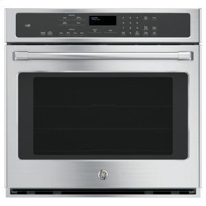"GE CafeGE Cafe™ Series 30"" Built-In Single Convection Wall Oven"