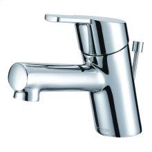 Chrome Amalfi Single Handle Top Control Lavatory Faucet