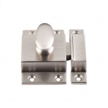 Cabinet Latch 2 Inch - Brushed Satin Nickel