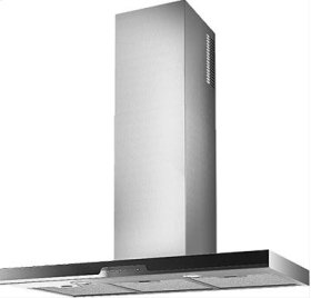 WC34I90SB - Brushed Stainless Steel with Black Glass