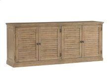 Palo Alto Louvered Door Stacking Unit