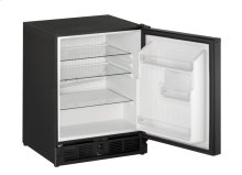 "Ada Series 21"" Ada Solid Door Refrigerator With Black Solid Finish and Field Reversible Door Swing (115 Volts / 60 Hz)"