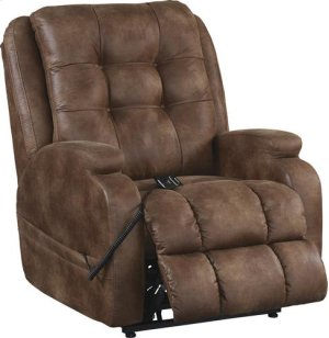 Power Lift Lay Flat Recliner - Almond