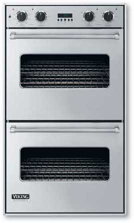 "Iridescent Blue 30"" Double Electric Premiere Oven - VEDO (30"" Double Electric Premiere Oven)"