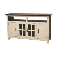 White Hacienda TV Stand