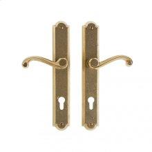 """Arched Multi-Point Entry Set - 1 3/4"""" x 11"""" White Bronze Dark"""