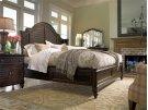 Steel Magnolia Queen Bed - Tobacco Product Image