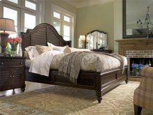 Steel Magnolia King Bed - Tobacco