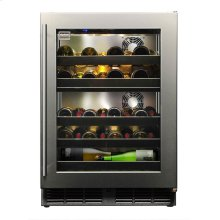 Signature 24-inch Dual-zone Outdoor Wine Chiller