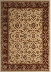 """PERSIAN CROWN PC001 CREAM RECTANGLE RUG Available in Sizes: 1'.11""""X 2'.1"""",   2'.2""""X 7'.6"""",  3'.9""""X 5'.9"""",  5'.3""""X 7'.4"""",  7'.8""""X 10'.5"""",  9'.3""""X 12'.9"""" Product Image"""