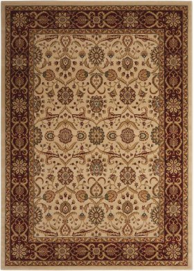 """PERSIAN CROWN PC001 CREAM RECTANGLE RUG Available in Sizes: 1'.11""""X 2'.1"""",   2'.2""""X 7'.6"""",  3'.9""""X 5'.9"""",  5'.3""""X 7'.4"""",  7'.8""""X 10'.5"""",  9'.3""""X 12'.9"""""""