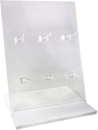 Jewelry on Backercard Display Stand. Product Image