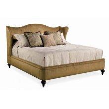California King Upholstered Bed