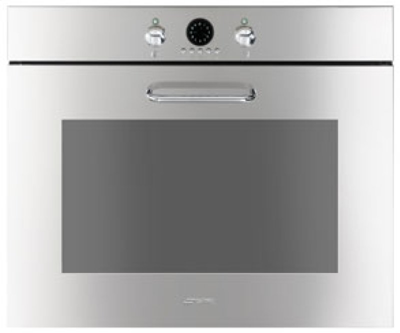70cm Rox 27 Evolution Electric Multifunction Oven Polished Fingerprint Proof Stainless Hidden