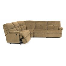 Triton Fabric Power Reclining Sectional