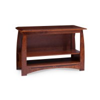 """Aspen Open TV Stand with Inlay, 48""""w Product Image"""