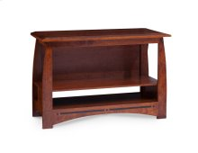 "Aspen Open TV Stand with Inlay, 48""w"