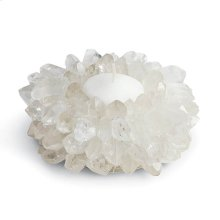 Quartz Crown Point Tea Light