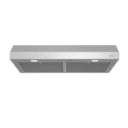 Glacier 30-Inch 300 CFM Stainless Steel Range Hood with LED light