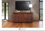 "70"" TV Stand w/6 Drawer, 2 door w/2 shelves on each side Product Image"