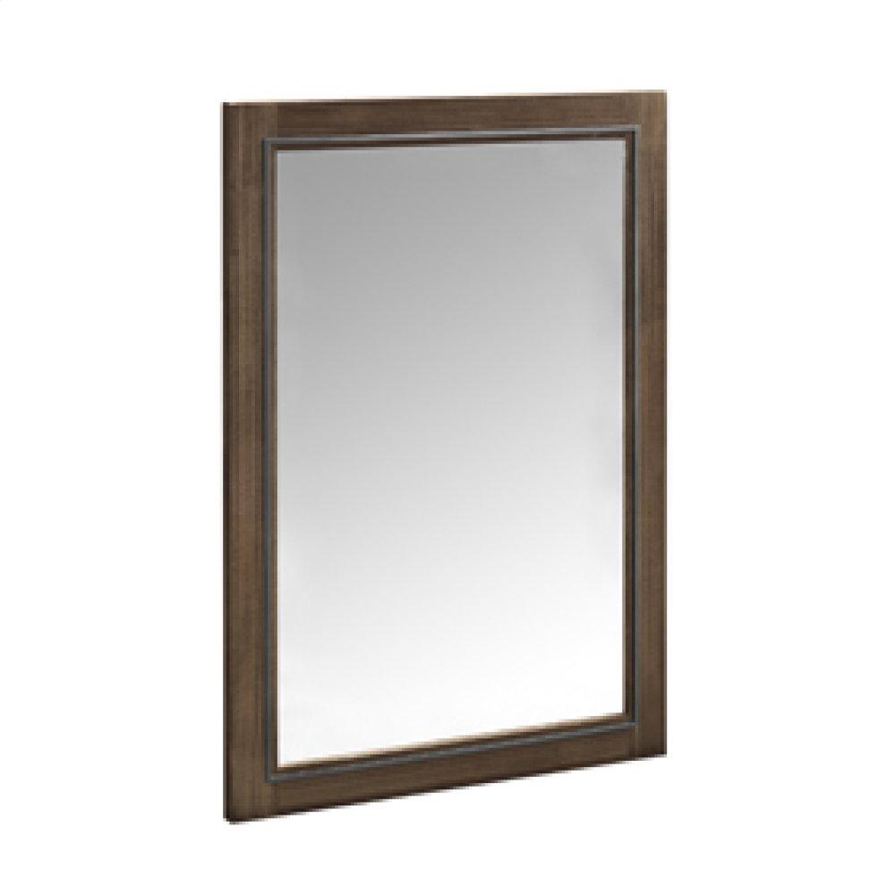 """m4 24"""" Mirror - Natural Walnut"""