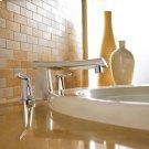 Green Tea Deck-Mount Bathtub Faucet - Polished Chrome Product Image