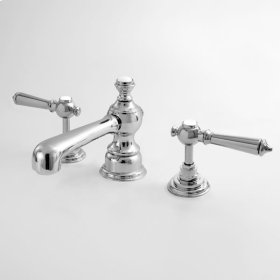 1800 Series Lavatory Set with Ascot Handle