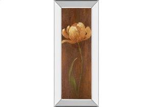 Golden Tulip II By Nan (mirrored Frame)