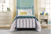 Molly Twin Bed Set Blue