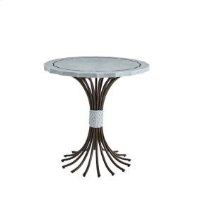 Resort Eddy's Landing Lamp Table in Sea Salt