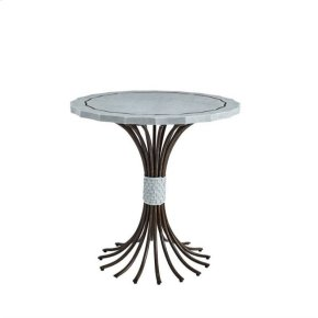 Resort Eddy's Landing Lamp Table In Sea Salt