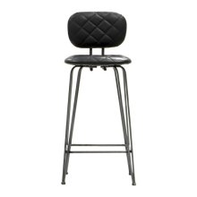 Leatherette Bar Stool