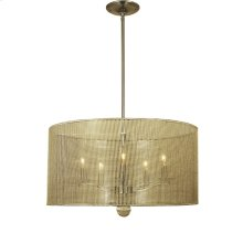 5-Light Simone Dining Chandelier