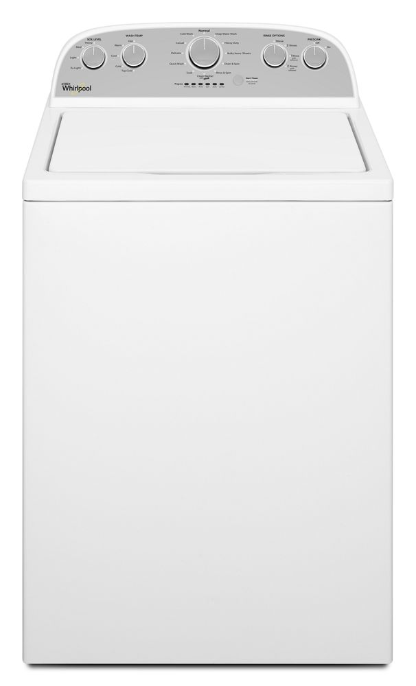 5.0 cu. ft. I.E.C. High-Efficiency Top Load Washer with a Low-Profile Impeller