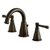 Tumbled Bronze Eastham Two Handle Widespread Lavatory Faucet
