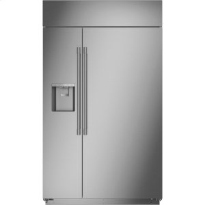 "MonogramMonogram 48"" Smart Built-In Side-by-Side Refrigerator with Dispenser - AVAILABLE EARLY 2020"