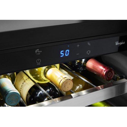 15-inch Wide Undercounter Wine Center with 34-Bottle Wine Storage