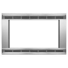 "27"" 1.5 cu. ft. Countertop Microwave Trim Kit Model MK1157XVS"