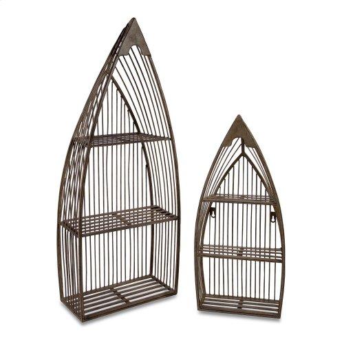 Nesting Boat Shelves - Set of 2