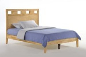 Tamarind Bed in Natural Finish