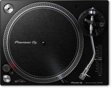 High-torque, direct drive turntable (black)