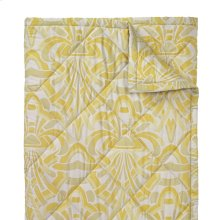 Axelle Quilts & Shams, Gold, Full/queen