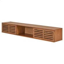 Sorrento KD Removeable Storage 2 Doors, Newton Brown