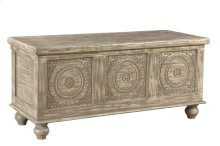 Bengal Manor Distressed Storage Bench