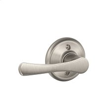 Avila Lever Non-turning Lock - Satin Nickel