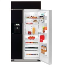"GE Profile ENERGY STAR® 42"" Built-In Side-by-Side Refrigerator with Dispenser"