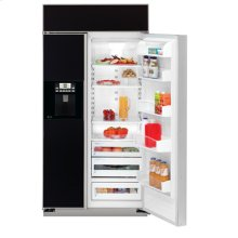 "GE Profile 48"" Built-In Side-by-Side Refrigerator with Electronic Dispenser"