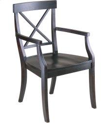 La Croix Arm Chair - Wood Seat