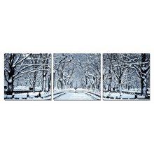 Modrest Winter Trees 3-Panel Photo